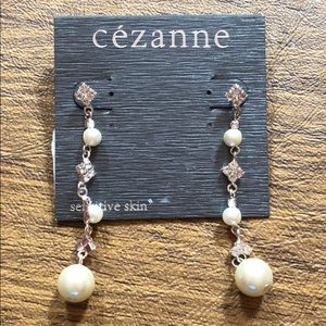 Cezanne Wedding/prom drop earrings